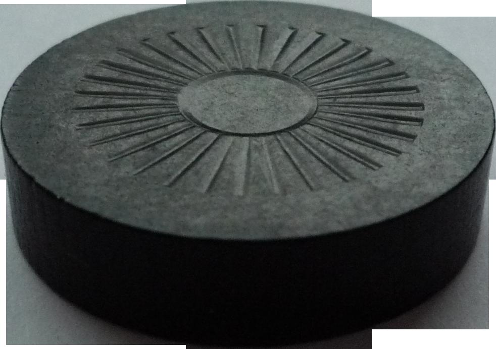 Kámen Černý pro stolní hokej (šprtec)