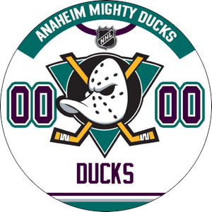 Anaheim Mighty Ducks away